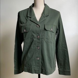NWOT Sanctuary Anthropologie green military jacket